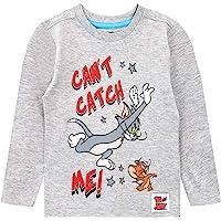 Tom & Jerry Camiseta de Manga Larga para niños