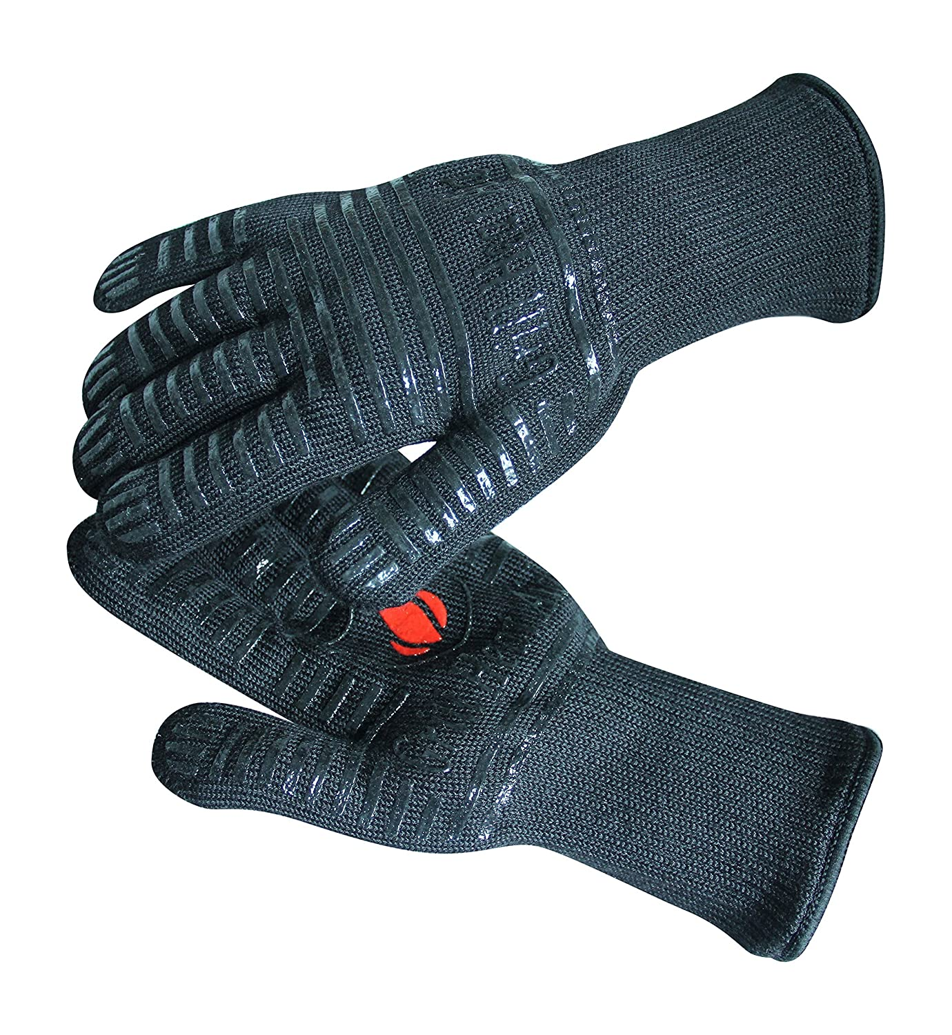 Premium Cooking Gloves, Heat Resistant, Oven, BBQ Mitts by Kitchen Ready (B00RUBZNDQ)