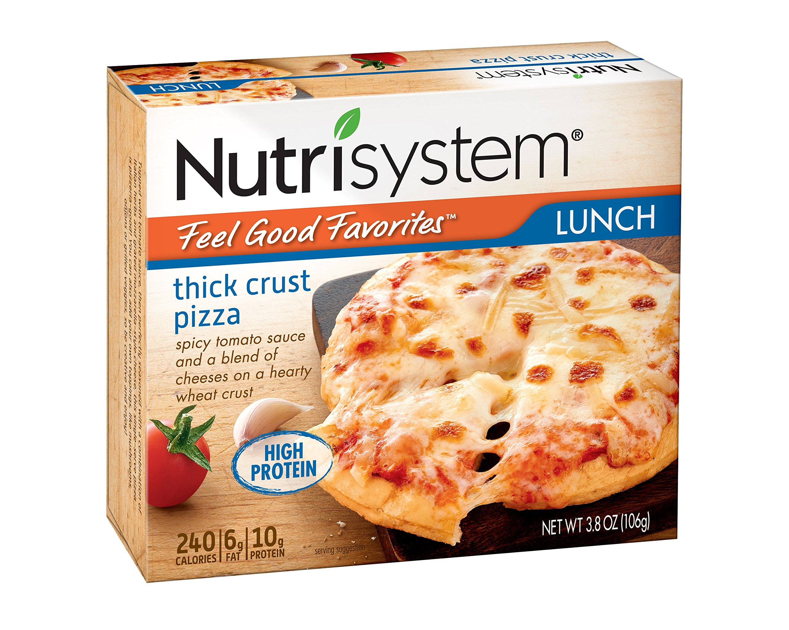 Nutrisystem® Feel Good Favorites® Thick Crust Pizza, 6 ct by Nutrisystem