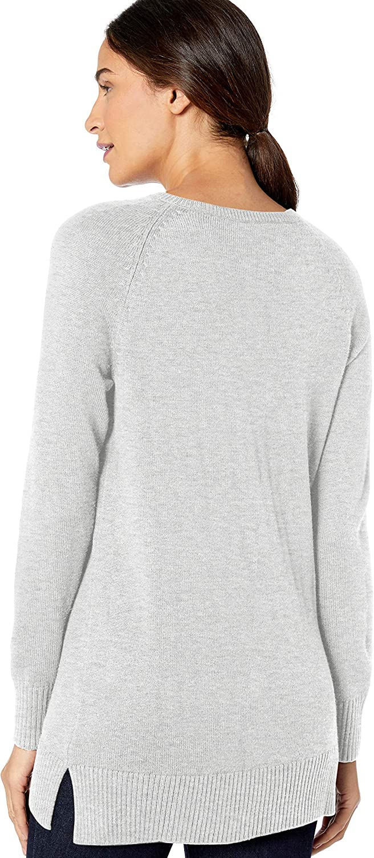 Marchio Lark /& Ro Long Sleeve V-Neck Sweater Donna