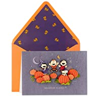 Hallmark Signature Peanuts Halloween Card (Halloween is Here!)