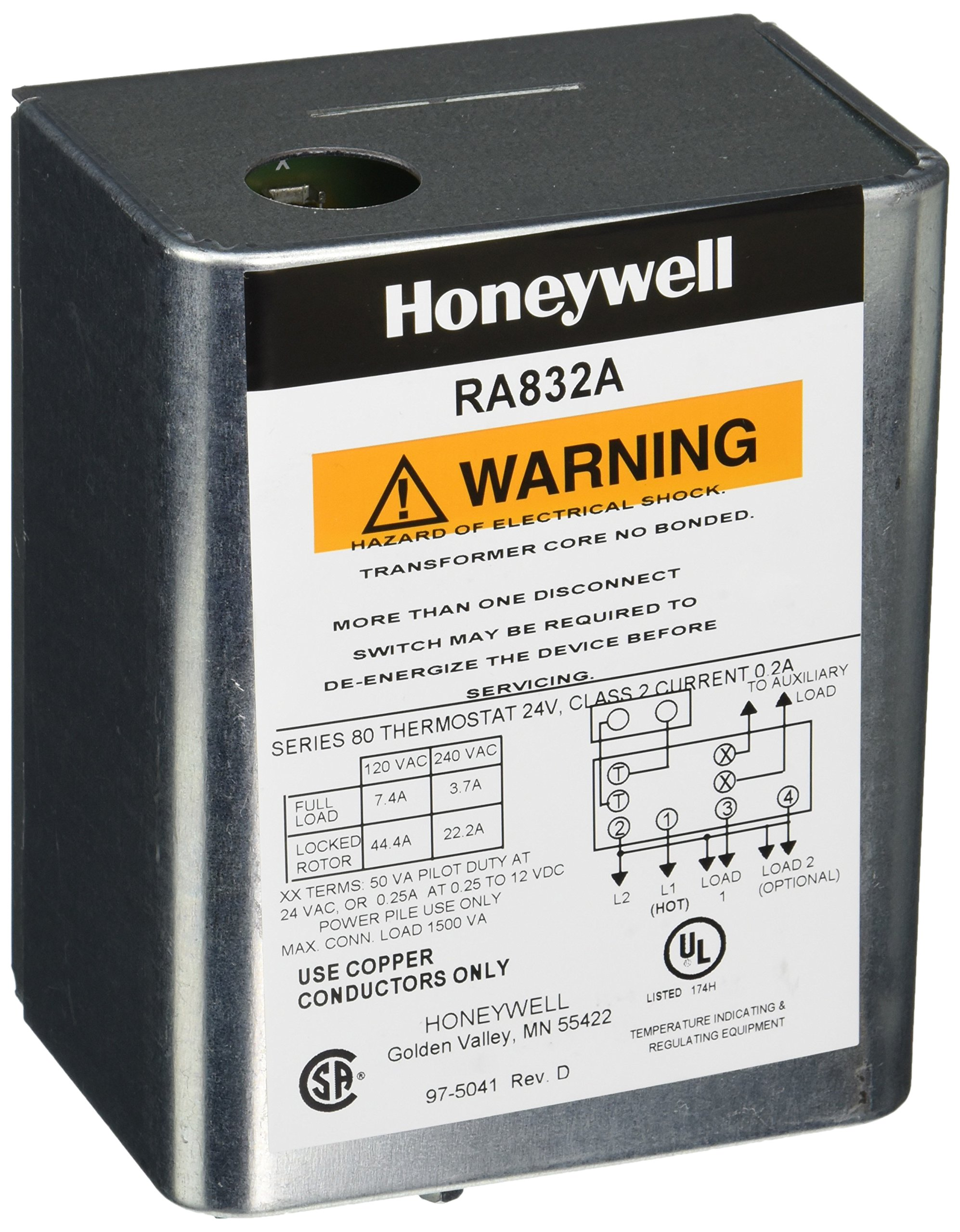 Honeywell RA832A1066 Hydronic Switching Relay by Honeywell