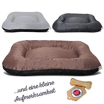Tante Hilde Hundebett Borkum Waschbar Robust Größenauswahl Hundekissen für kleine, mittlere und große Hunde Spitzen Qualität!