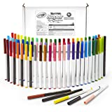Crayola Super Tips, Washable Markers, 80 Count, Includes Scented Markers, Art Tools
