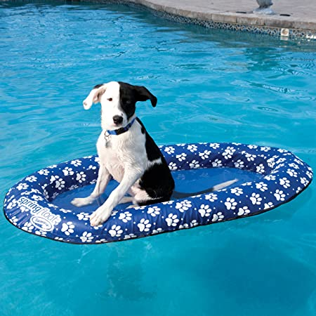 Paddle Paws Spring Float Dog Raft, Small (0-65 lbs.)