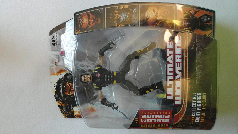 B000PH0FXK Marvel Legends Series 17 (Hasbro Series 2) Action Figure Ultimate Wolverine 91puPfZQRPL