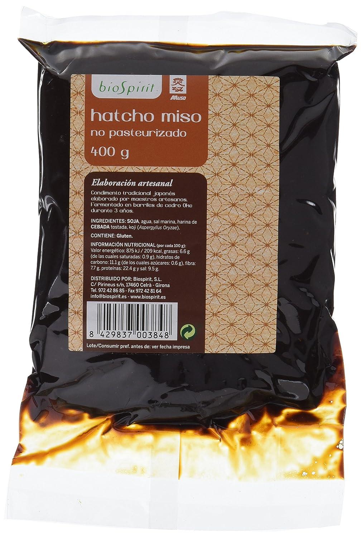 Biospirit Hatcho Miso no Pasteurizado - 400 gr: Amazon.es: Alimentación y bebidas