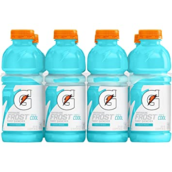 Amazon Gatorade Thirst Quencher Frost Glacier Freeze 20 Ounce