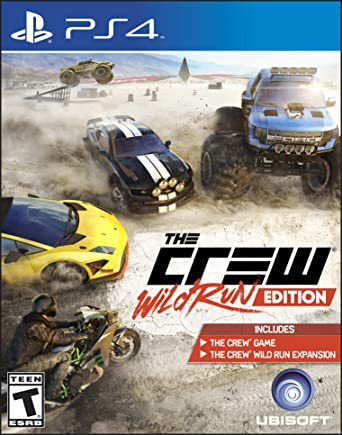 The Crew Wild Run Edition - PlayStation 4 by Ubisoft: Amazon.es ...