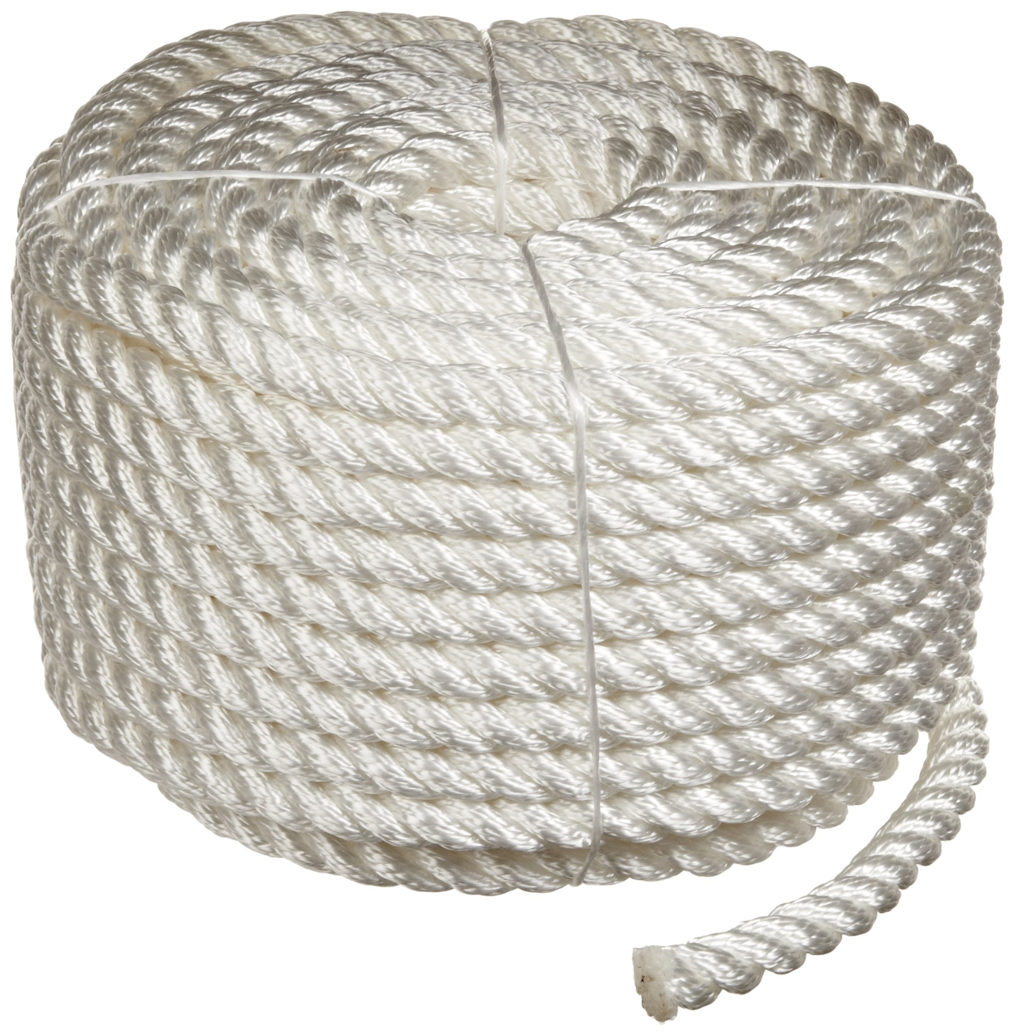 Rope King TN-12100 Twisted Nylon Rope Coil 1/2 inch x 100 feet