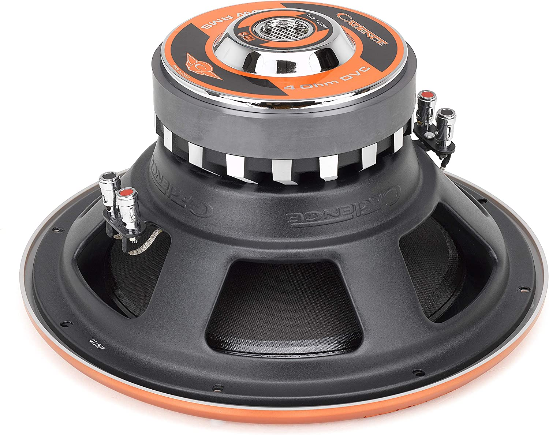 Cadence UD12D4 900 Watts 12 Dual 2 Ohm Ultra Drive Car Audio Subwoofer