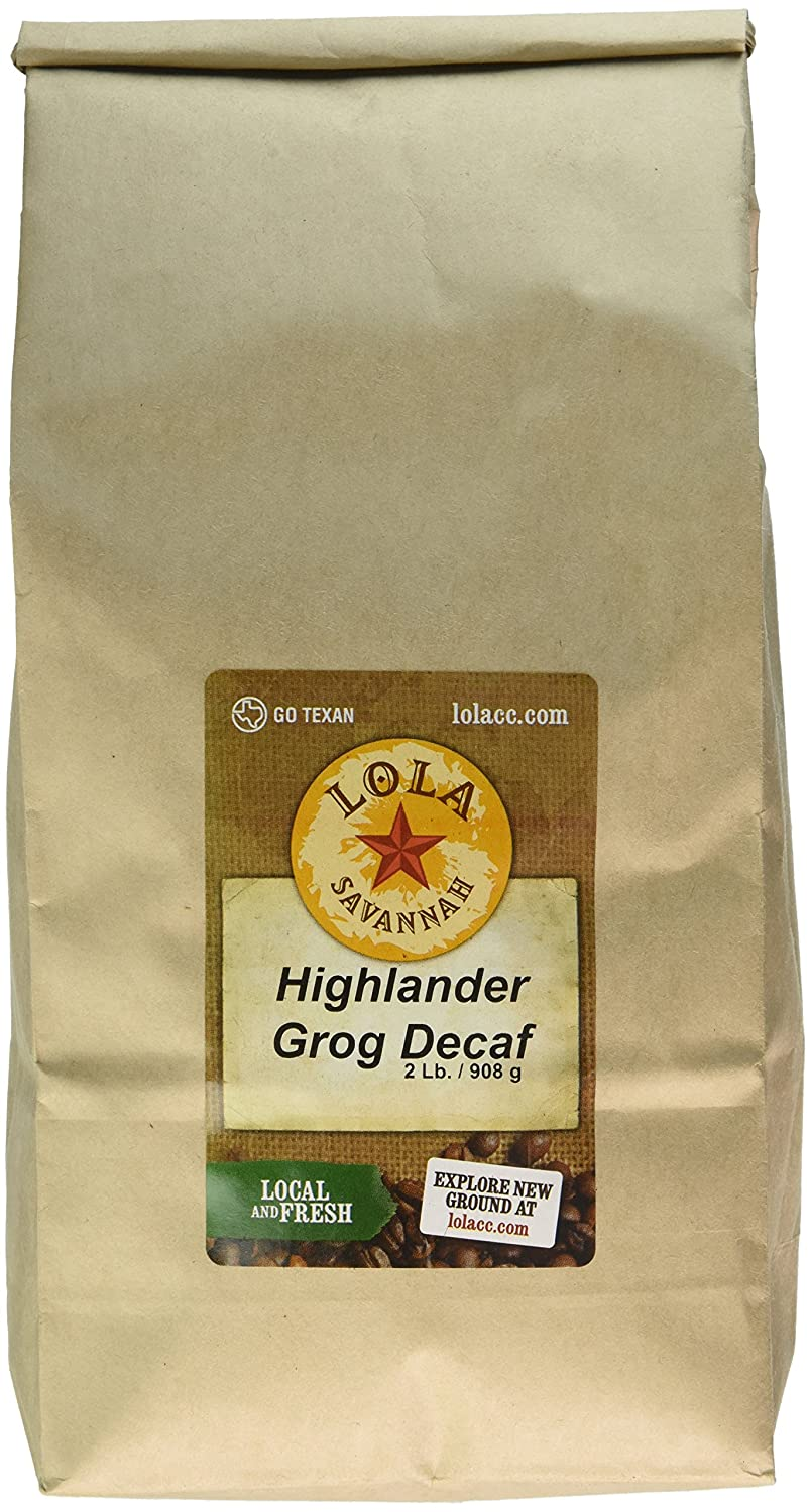 Lola Sabana Highlander Grog Terreno, decaf, 2 libra: Amazon ...