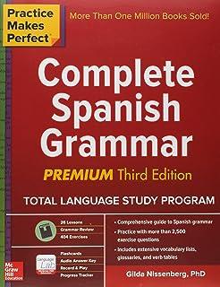 Basic spanish grammar ana jarvis raquel lebredo francisco mena practice makes perfect complete spanish grammar premium third edition fandeluxe Choice Image