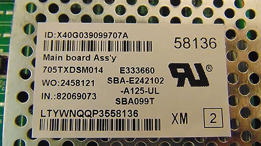 TXDCB02K0310002 Main Board for E390i-A1 t Vizio 715G5824-M02-000-004X
