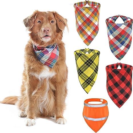 Over-the-collar bandana  dog scarf  cat bandana  Puppy bandana   Black dog bandanna