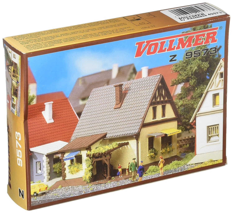 Busch 49573 House w//Gray Roof Z Scale Model