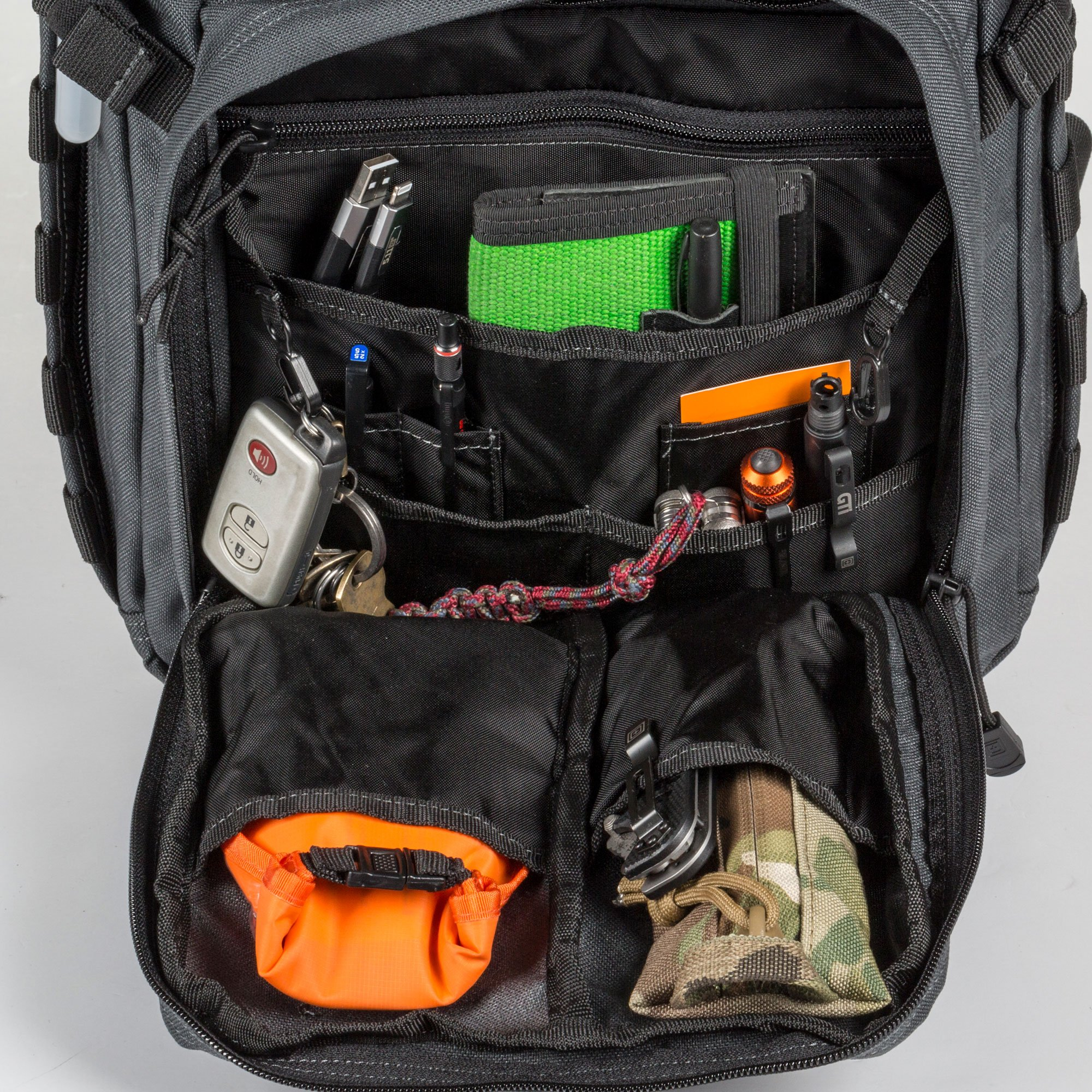 5.11 RUSH12 Tactical Military Assault Molle Backpack, Bug Out Rucksack Bag, Small, Style 56892, Black by 5.11 (Image #5)