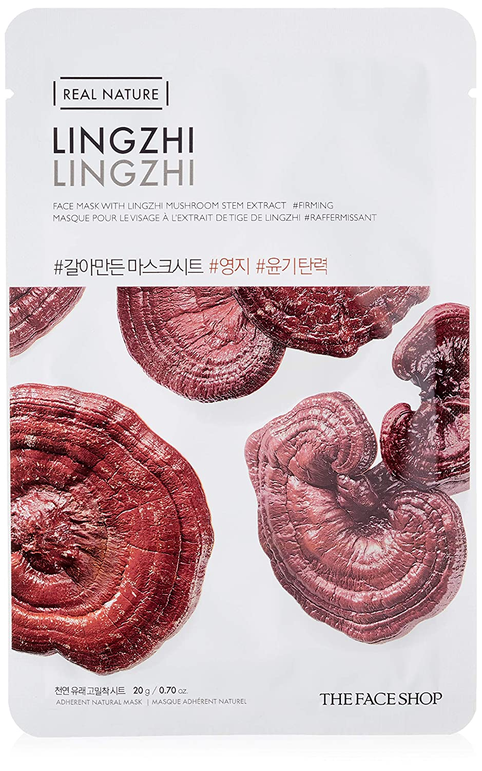 THE FACE SHOP Real Nature Mask Sheet Lingzhi