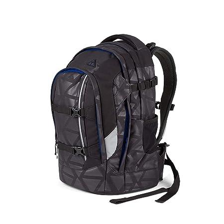 3f732b2dde2 Ergobag satch School Backpack II 48 cm Notebook Compartment Black Triad:  Amazon.co.uk: Luggage