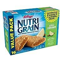 Deals on 3-PK Kelloggs Nutri-Grain, Soft Baked Breakfast Bars 20.8 Oz
