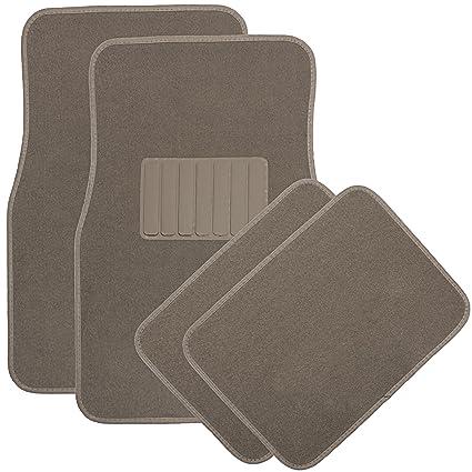 Carpet Floor Mats >> Amazon Com Oxgord 4pc Full Set Carpet Floor Mats Universal Fit Mat
