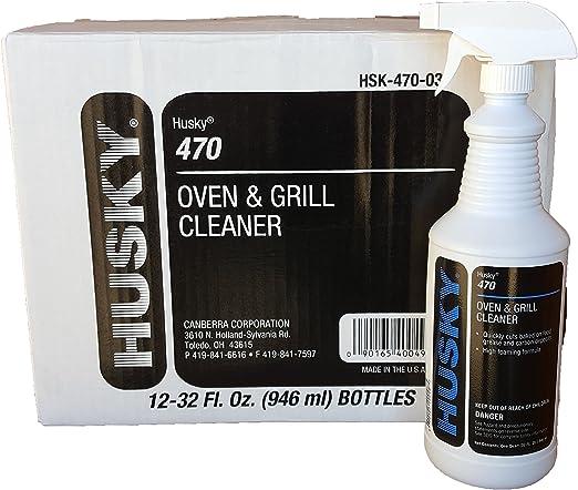 Husky Industrial Horno y parrilla limpiador caso 12 x 32 oz ...