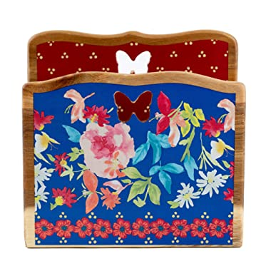 The Pioneer Woman Floral Wood Napkin Holder