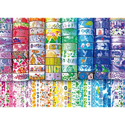 Ravensburger 16439 Washi Wishes 300 Piece Large Pieces Jigsaw Puzzle for Adults - Every Piece is Unique, Softclick Technology Means Pieces Fit Together Perfectly: Toys & Games