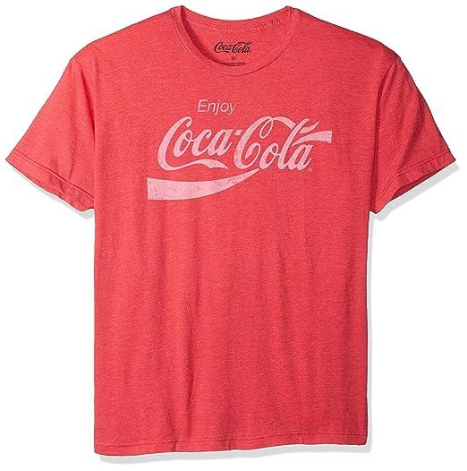 08c59191ed65 Amazon.com: Coca-Cola Men's Coke Classic Vintage Logo T-shirt: Clothing