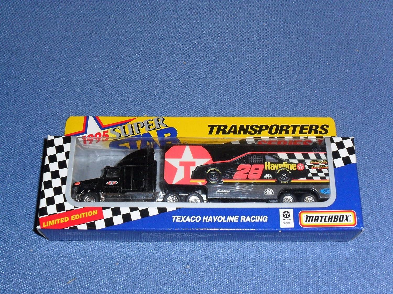 超格安一点 1995 NASCAR Matchbox Matchbox 1/87 Superstars Transporter . . . Dale Jarrett/ Ernie Irvan #28 Texaco Havoline . . . 1/87 Scale Transporter B006U3OC32, 南松浦郡:36150fbe --- arianechie.dominiotemporario.com