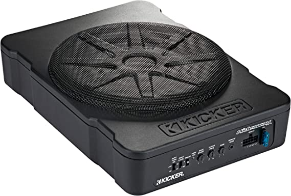 KICKER 46HS10 Compact Powered 10-inch Subwoofer