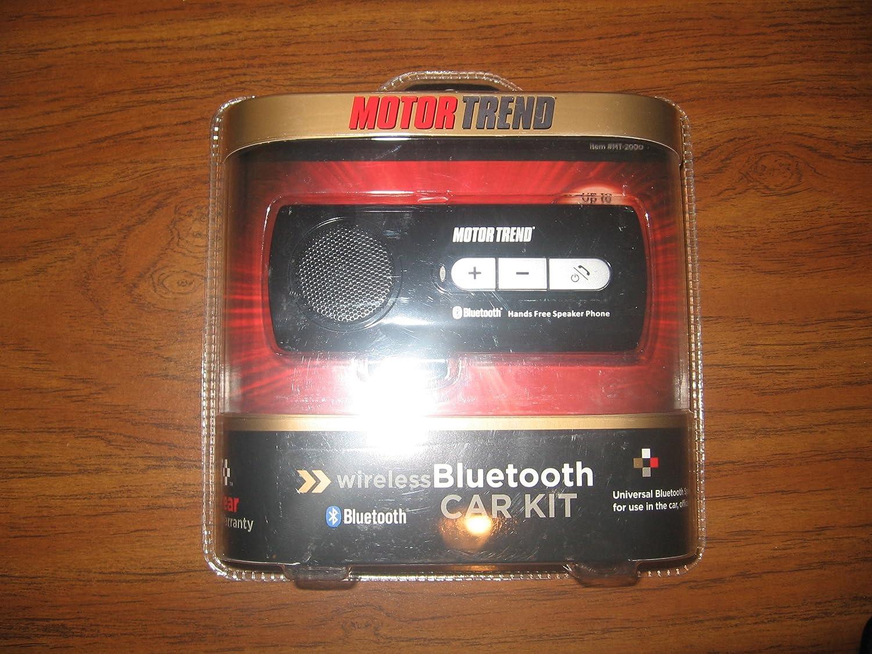 Motor Trend Wireless Bluetooth Car Kit