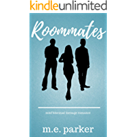 Roommates: MMF Bisexual Menage Romance book cover
