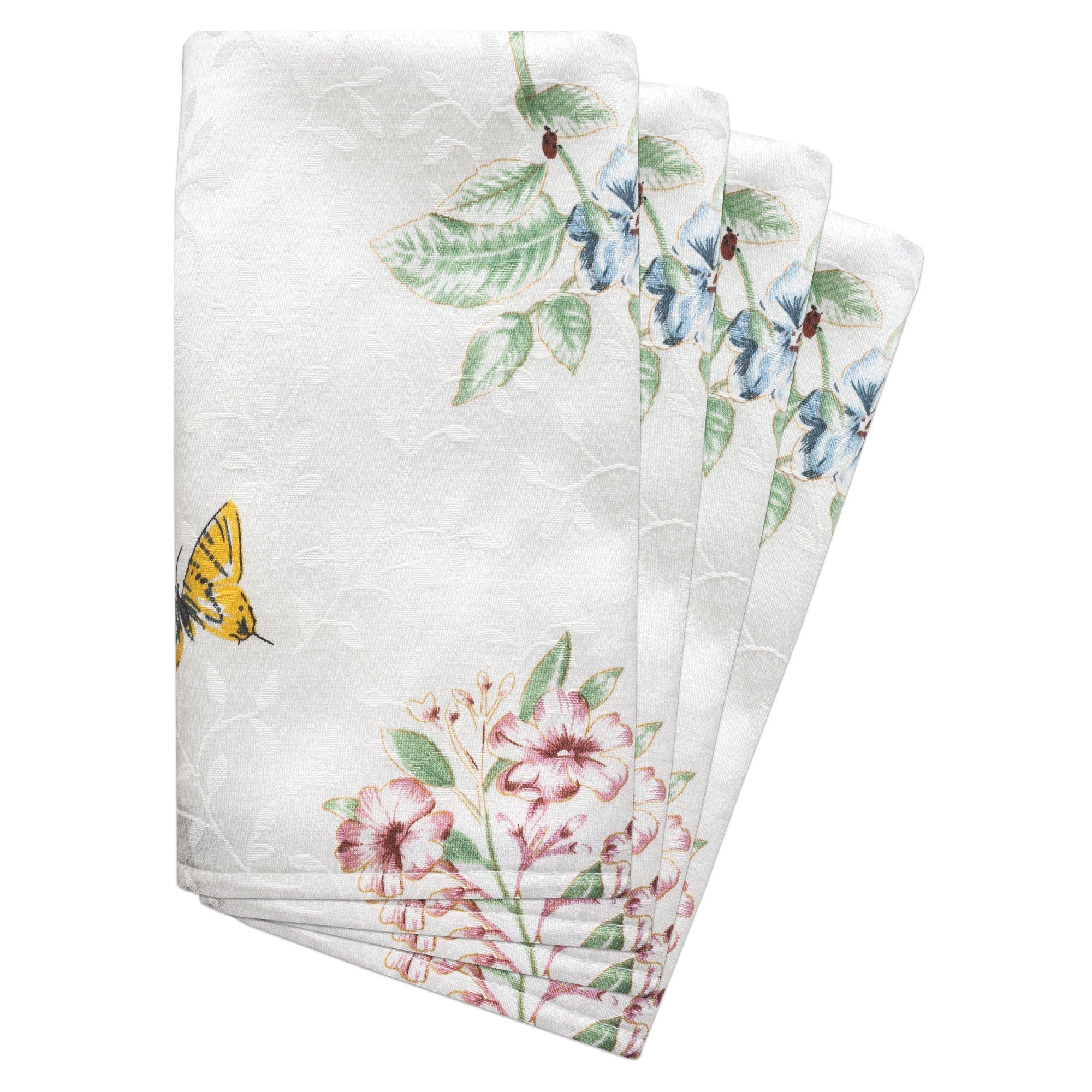 Lenox Butterfly Meadow Set of 4 Napkins