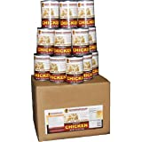 Survival Cave Food Canned Chicken 12-Pk. 14 1/2-oz. cans