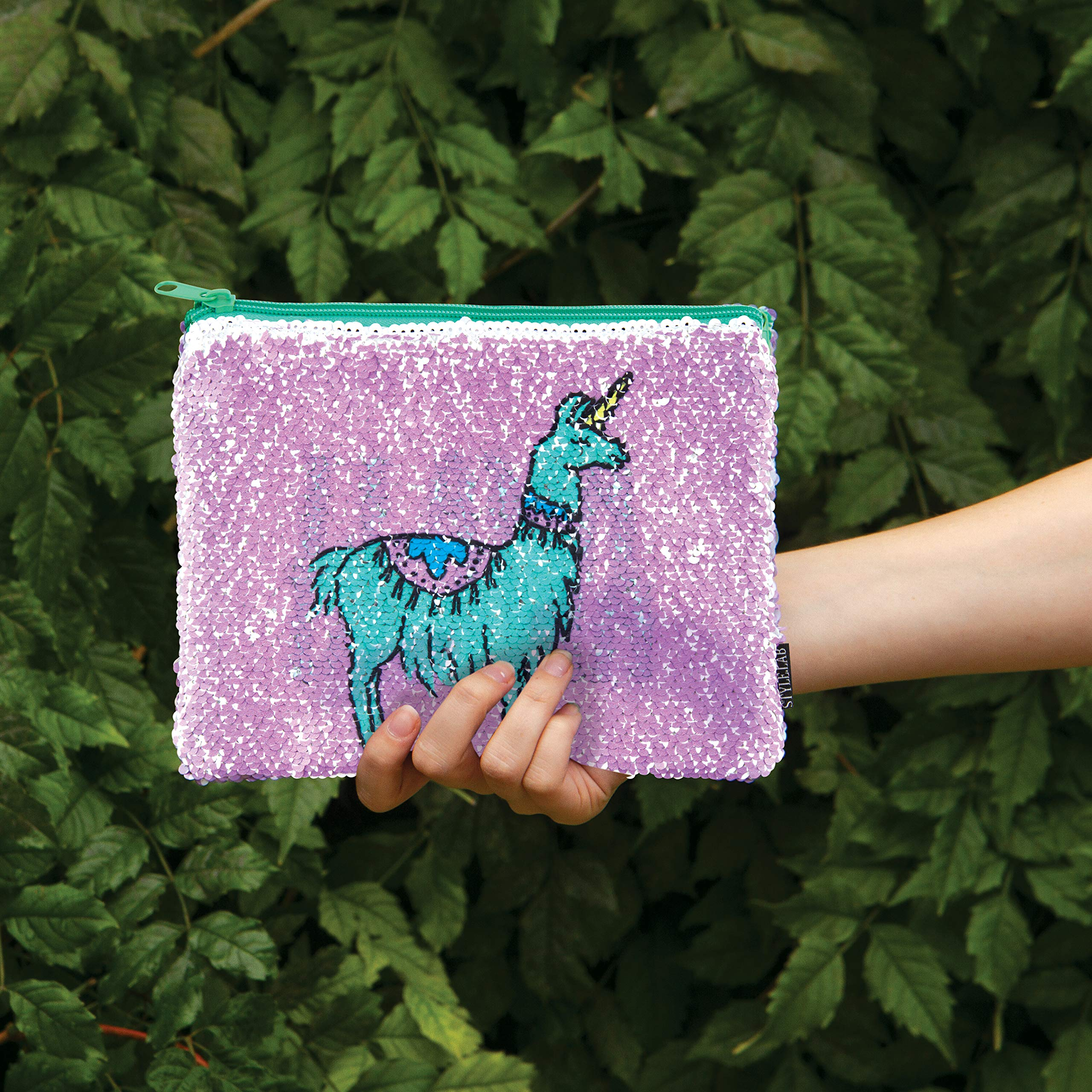 Style.Lab Magic Sequin Reveal Pouch-Llama/Drama by Style.Lab (Image #7)