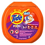Amazon Price History for:Tide PODS Spring Meadow HE Turbo Laundry Detergent Pacs 72-load Tub