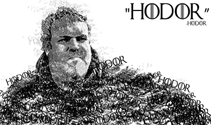 Amazon.com: hiddensupplies Juego de Tronos Hodor Playmat ...