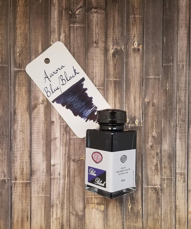 Aurora Blue Black Ink Bottle 45 ml 125-BN