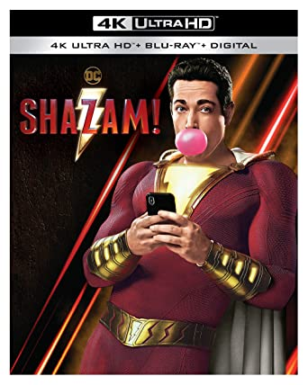 Amazon com: Shazam! (4K Ultra HD + Blu-ray + Digital) (4K Ultra HD
