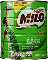 Nestle Milo Chocolate Malt Beverage Mix Jumbo 3.3 Pound Can (1.5kg)