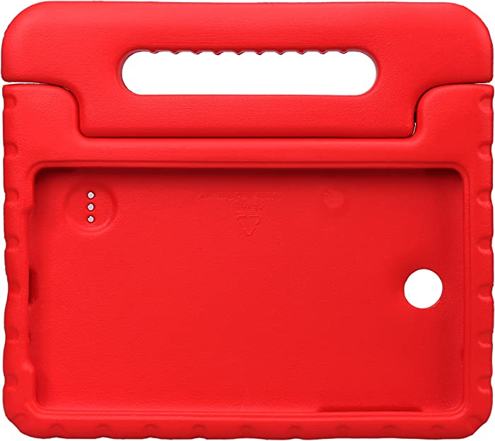 NEWSTYLE Tab 4 8.0 Shockproof Case Light Weight Kids Case Super Protection Cover Handle Stand Case for Kids Children for Samsung Galaxy Tab 4 8.0 8-inch SM-T330 SM-T331 SM-T335 - Red Color
