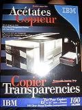 Ibm Copiers Transparencies 100