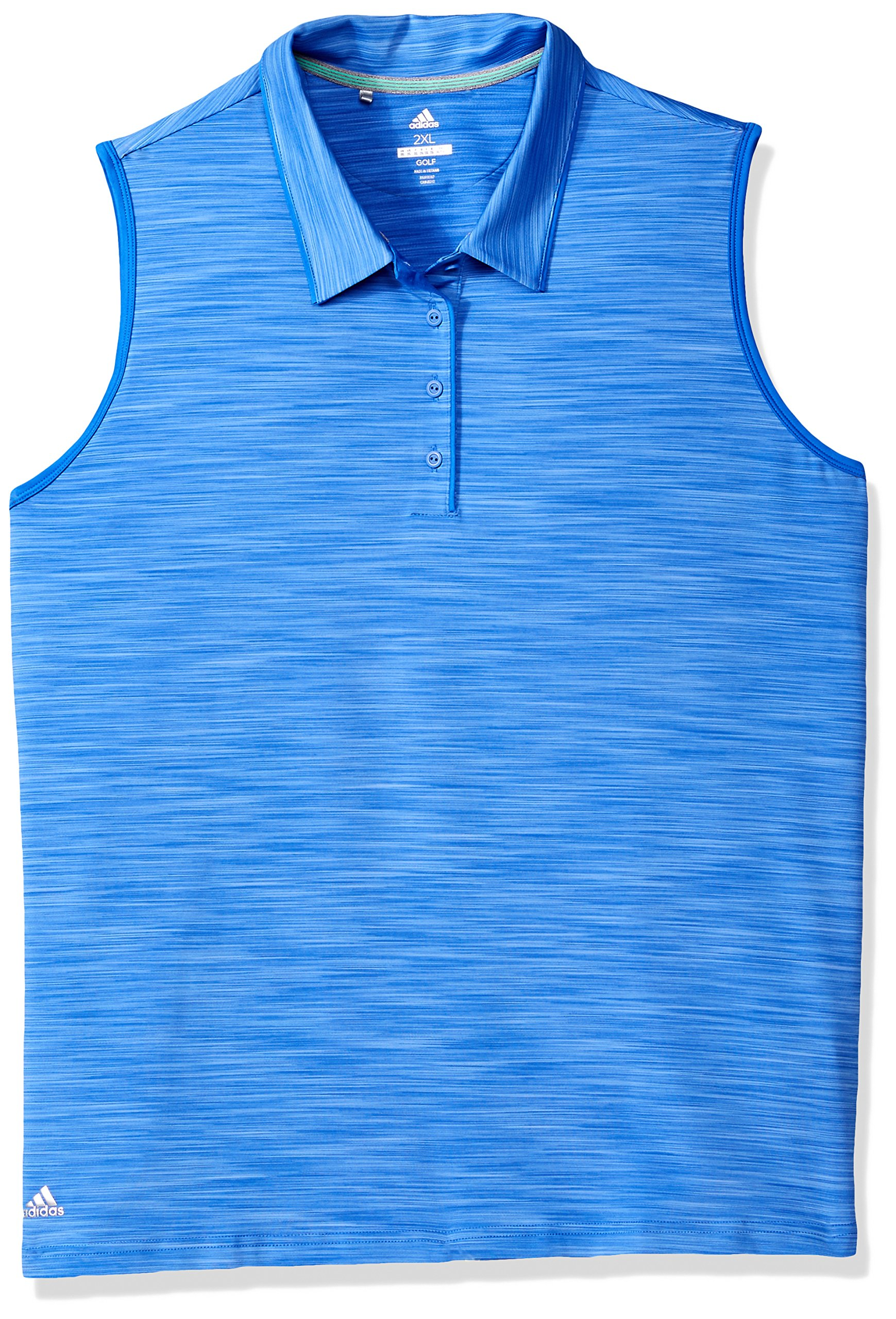 adidas Golf Women's Ultimate 365 Sleeveless Polo, Hi-Res Blue, X-Small