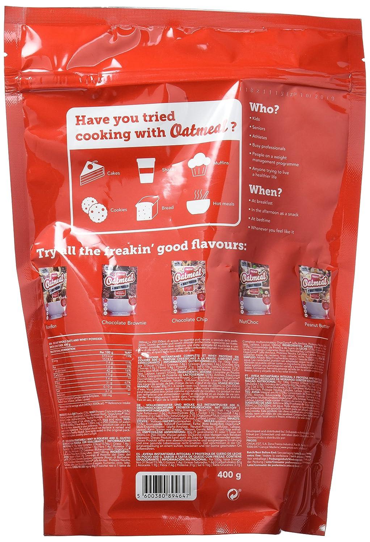 Prozis Oatmeal, Tarta de Queso con Fresas - 400 gr: Amazon.es: Salud y cuidado personal