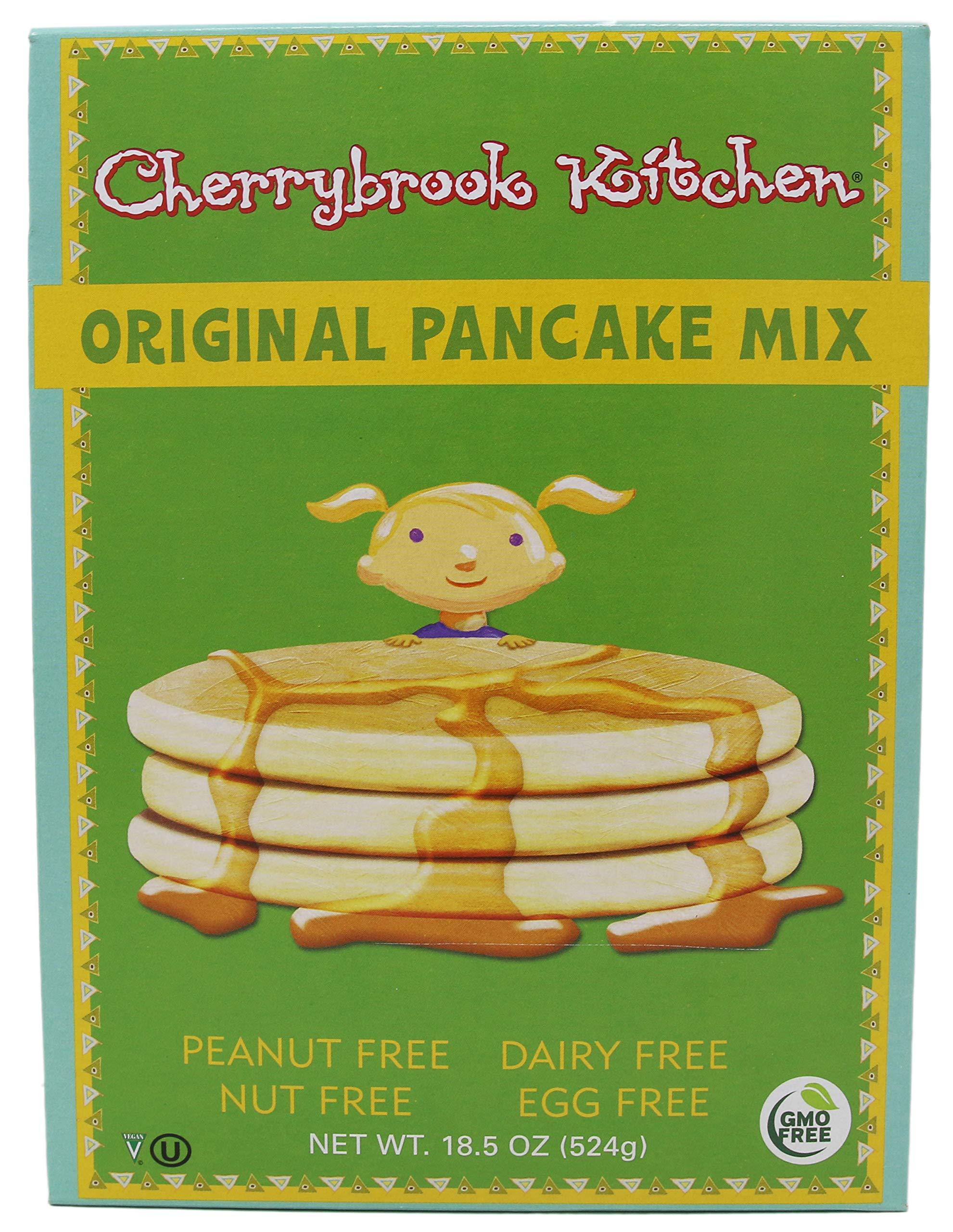 Cherrybrook Kitchen Original Pancake Mix, 18.5 oz (Pack of 6) by Cherrybrook Kitchen