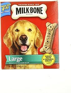 Milk-Bone Dog Treats, Large Dog, 4 Lb