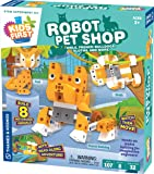 Thames & Kosmos Kids First Robot Pet Shop: Owls, French Bulldogs, Sloths & More! STEM Experiment Kit for Young Engineers…