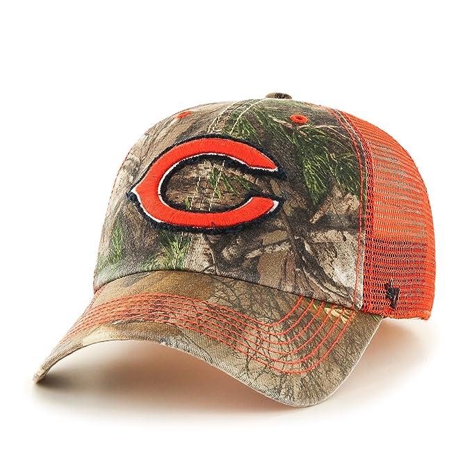 huge selection of fd328 69070  47 NFL Chicago Bears Realtree Huntsman Closer Stretch Fit Hat, Medium Large ,