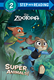 Super Animals! (Disney Zootopia) (Step into Reading) (English Edition)